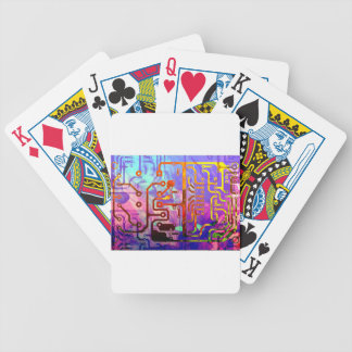 Blue Sky Bicycle Playing Cards