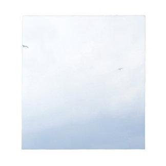 Blue Sky Birds Notepad