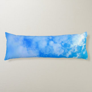 blue sky Brushed Polyester Body Pillow