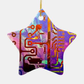 Blue Sky Ceramic Ornament
