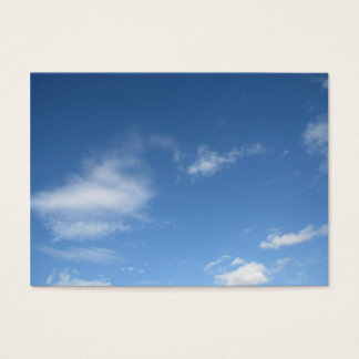 Blue Sky & Clouds Business Card