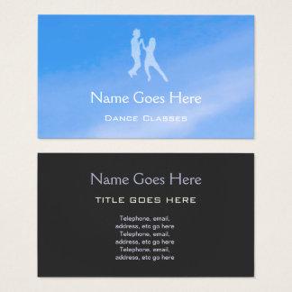 """Blue Sky"" Dance Business Cards"