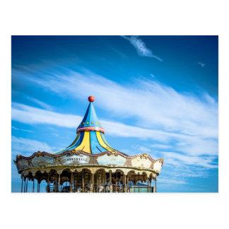 Blue sky fun from Barcelona Postcard