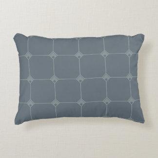 Blue Sky Geo Jersey Knit Decorative Pillow