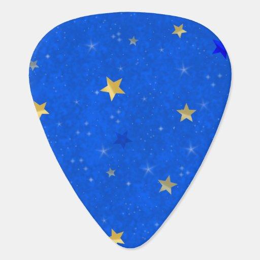 Blue Sky Golden Stars Pick