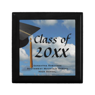 Blue Sky Graduation Keepsake Box