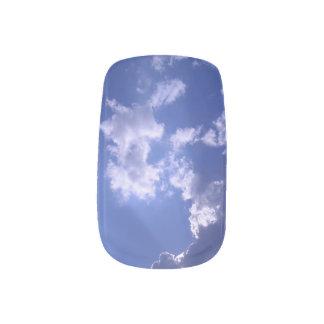 Blue Sky Minx Nail Art