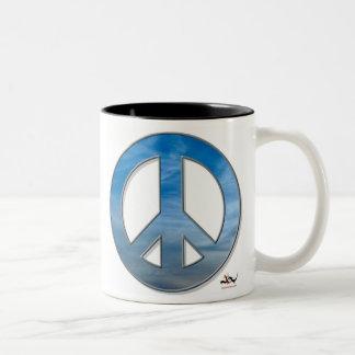 Blue Sky Peace Mug