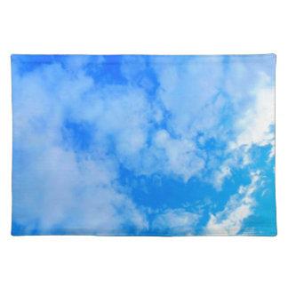 blue sky. placemat