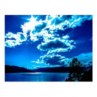 Blue Sky Post Card