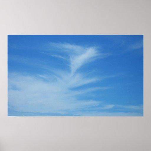 Blue Sky Print