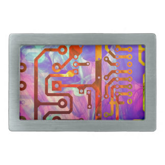 Blue Sky Rectangular Belt Buckle