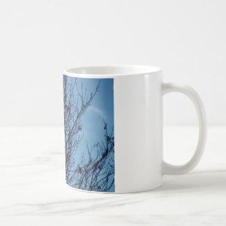 Blue sky tree mug