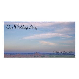 Blue Sky Wedding Poster