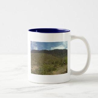 Blue Sky with Apache Leap Mug