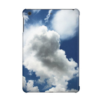 Blue Sky with Clouds iPad Mini Cover