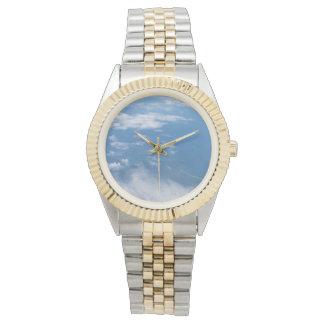 Blue sky with Clouds Watch Bracelet