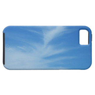 Blue Sky with White Clouds Abstract Nature Photo iPhone 5 Covers