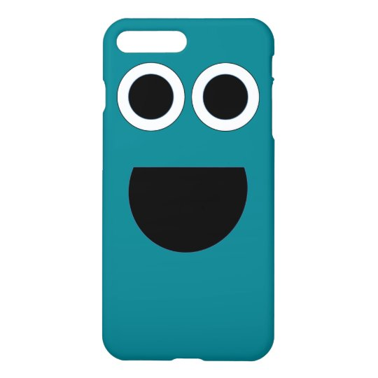 blue smile phone case