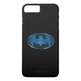 Blue Smoke Bat Symbol 2 iPhone 8 Plus/7 Plus Case