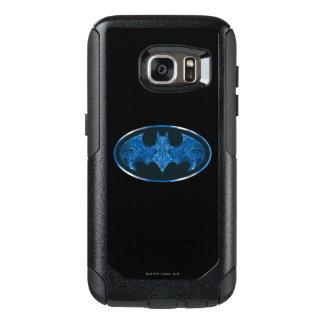 Blue Smoke Bat Symbol 2 OtterBox Samsung Galaxy S7 Case