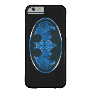 Blue Smoke Bat Symbol iPhone 6 Case