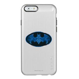 Blue Smoke Bat Symbol Incipio Feather® Shine iPhone 6 Case