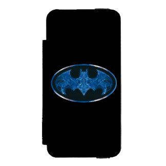 Blue Smoke Bat Symbol Incipio Watson™ iPhone 5 Wallet Case
