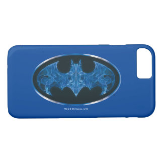 Blue Smoke Bat Symbol iPhone 8/7 Case