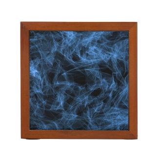Blue Smoke Desk Organizer