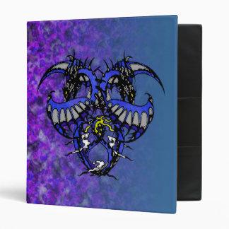 Blue Smoke Dragonheart 3 Ring Binders