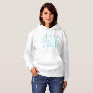 Blue snow hoodie