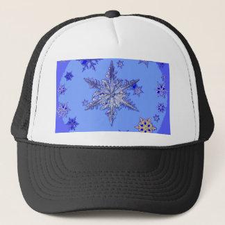 """BLUE SNOW ON SNOW"" BLUE WINTER gifts Trucker Hat"