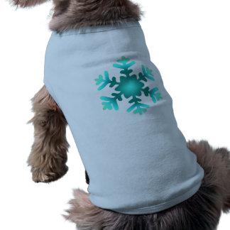 Blue Snowflake Pet Clothing