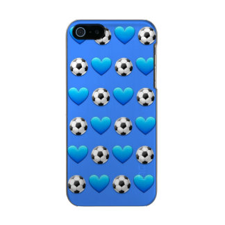 Blue Soccer Ball Emoji iPhone SE/5/5s Incipio Case