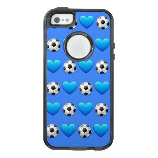 Blue Soccer Ball Emoji iPhone SE/5/5s Otterbox