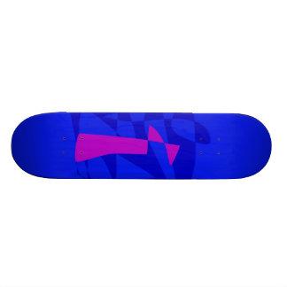 Blue Society Custom Skateboard