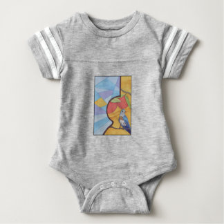 Blue Song Baby Bodysuit