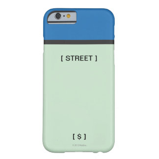 Blue Space Barely There iPhone 6 Case