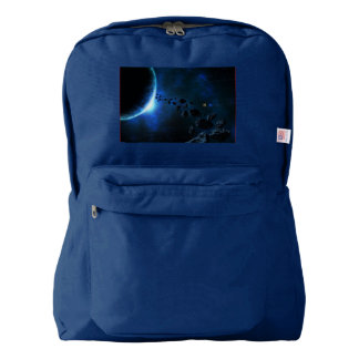 Blue Space Cosmos backpack