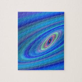 Blue space puzzle