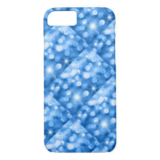 Blue Sparkle iPhone 7 Case