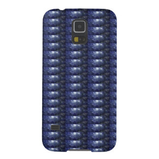 BLUE Sparkle Patch: Based  Healing CRYSTAL STONE Galaxy S5 Cover