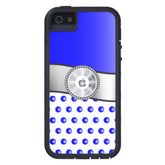 Blue sparkles iPhone 5 cases