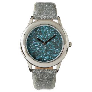 Blue Sparkles Wristwatches