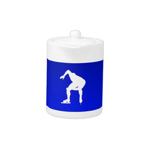Blue Speed Skater
