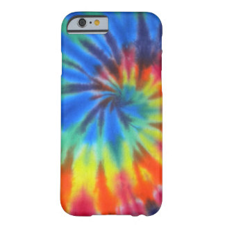 Blue Spiral Tie-Dye iPhone 6 case Barely There iPhone 6 Case