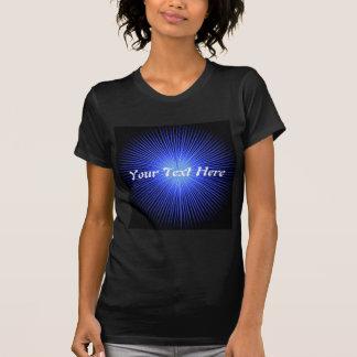Blue Spirit Circles Tee Shirts