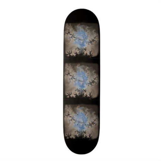 Blue Spirit In Fractal Mist Custom Skate Board