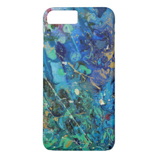 Blue splash iPhone 8 plus/7 plus case